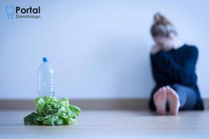 Problemy z zębami spowodowane bulimią